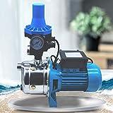 Kreiselpumpe Druckschalter Gartenpumpe Hauswasserautomat 1100 Watt 3600 L/h 5 bar Hauswasserwerk...