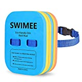 SWIMMEE Back Float for Kids Children Safety Swim Bubble with Adjustable 3 Layers Swim Belts Comfortable Waterproof Floaties Device for Kids Toddler Swimming Floats (10lb-60lb)