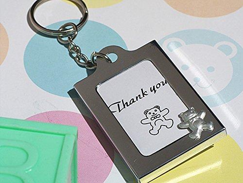 Memorable Moments Teddy Bear Keychain Photo Frame Baby Favors