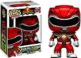 Funko- Power Rangers-Red Ranger-Dragon Shield Figurine Multicolore 14377