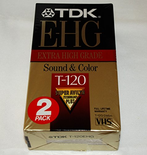 Why Should You Buy TDK Extra High Grade T-120 (2 Pack)