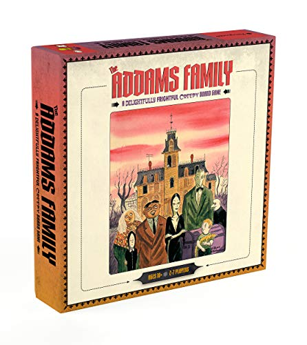 The Addams Family: A Delightfully Frightful Creepy Board Game Hawaii