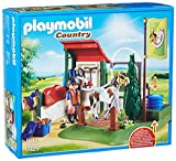 Playmobil- Country Playset de Limpieza para Caballos, Multicolor (6929)