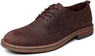 Mens Dress Shoes, Lace Up Plain Toe Leather Oxford