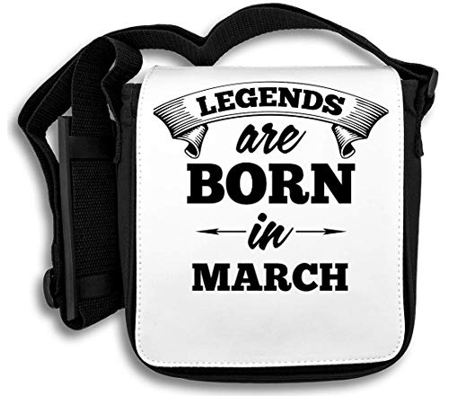 Legends Are Born In March schoudertas