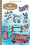 Diario de Viaje: Londres Libro de Registro de Viajes Guiado Infantil - Cuaderno de Recuerdos de Actividades en Vacaciones para Escribir, Dibujar, Afirmaciones de Gratitud para Niños y Niñas