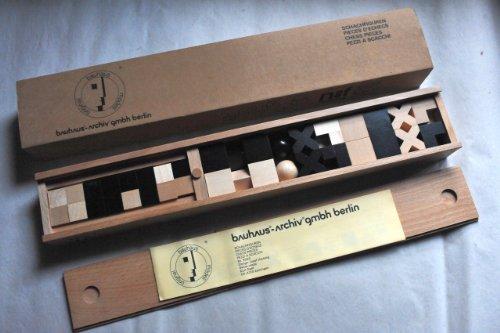 Bauhaus [sin Ajedrez Piezas de ajedrez ajedrez]