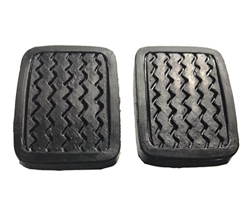 ihave 2X Brake Clutch Pedal Pad Covers for Datsun 620 520 521 610 720 311 320 46431-04100