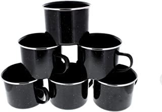 Best black enamel mugs Reviews