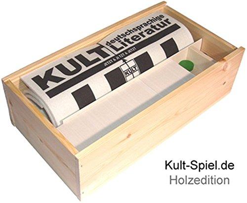 Kult-Spiel deutschsprachige Literatur: Das Literaturspiel in der Weinkiste