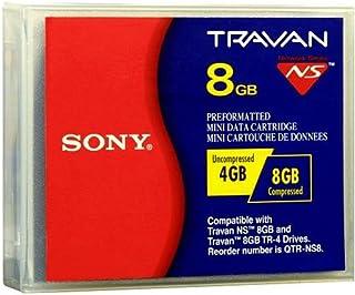Sony QTRNS8//A4 Travan TR-4 8GB Memory Tape Cartridge