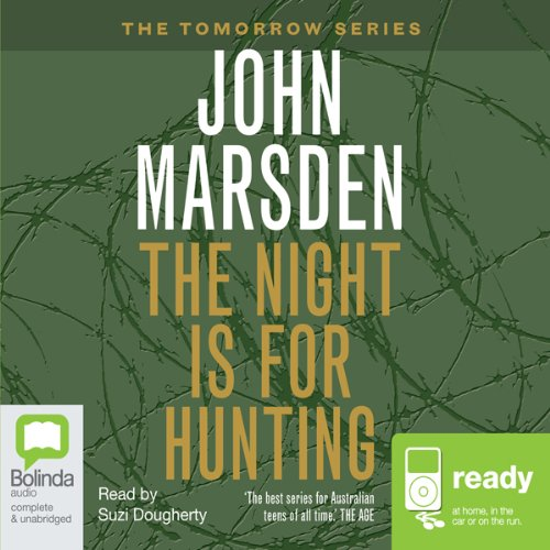 The Night is for Hunting audiobook cover art