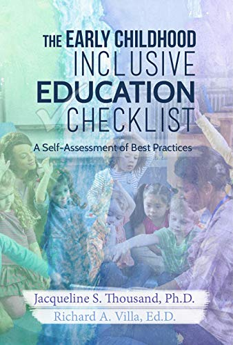 Compare Textbook Prices for The Early Childhood Inclusive Education Checklist  ISBN 9781949961102 by Jacqueline Thousand & Richard Villa,Lisa Hanson