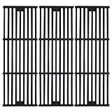 Hisencn Porcelain Coated Cast Iron Cooking Grates Replacement for Chargriller 2121, 2123, 2222, 2828, 3001,...