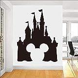 Cute Mickey Mouse Cartoon Vinyl Applique Sremovable Ticker Art Child Nursery Kids Wall Stickers Wall Decor Kids Room 58X75Cm