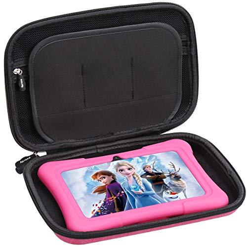 Aproca Duro Viajes Funda Bolso Caso para Dragon Touch Tablet Y88X (Red)