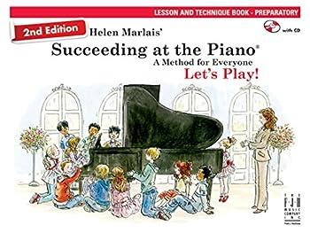 Paperback Succeeding at the Piano Lesson & Technique Book (Preparatory Level) 2nd edition Book
