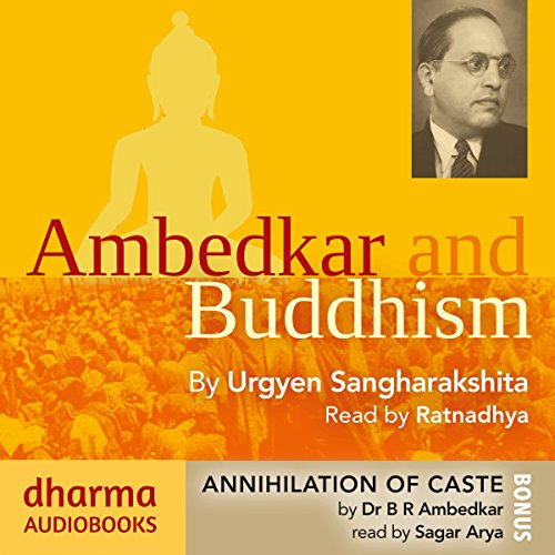 Couverture de Ambedkar and Buddhism, Annihilation of Caste