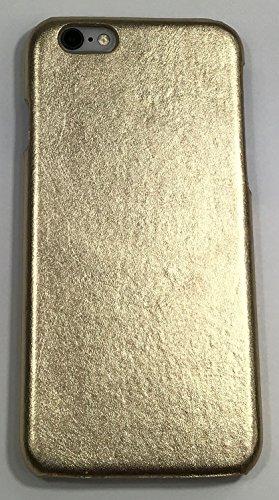 iPhone 6 / iPhone 6s Case - Restoration Hardware - Metallic Leather Hard Shell Case (Gold)