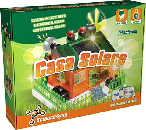 Science4You - Casa Solare: Kit Scientifico di Energia Rinnovabile - Gioco Educativo e Scientifico