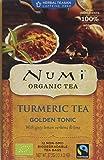 Numi Teas Organic Turmeric Golden Tonic 12 Teabags (Pack of 6, Total 72)