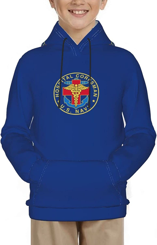 Hospital Corpsman Hoodies 3d Printing Sweater Boy Girls Kid Youth Fashion Pocket Pullover Sweatshirts