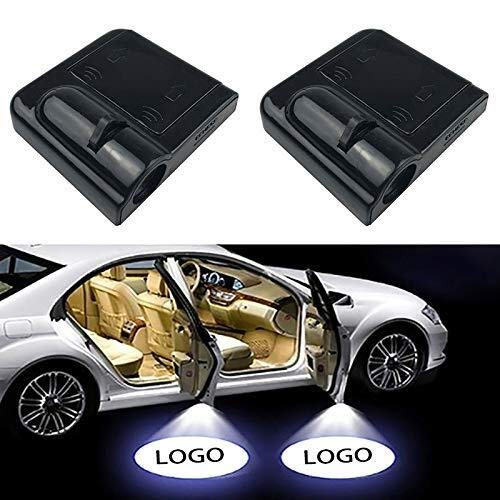 2pcs Wireless-LED-Auto-Tür-Licht Courtesy Logo-Geist-Schatten-Lampe for alle Modelle Projektor-Licht (Size : for Skoda)