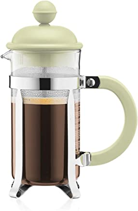 Bodum 1913-339B-Y19 Caffettiera French Press Coffee and Tea Maker, 12 Oz, Light Green
