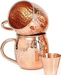 He's going to love this copper mule mug Copper 7th Anniversary Gifts for Him
