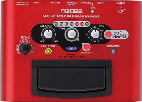 BOSS VE-2 Vocal Harmonist Pedal