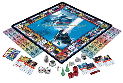 MasterPieces The Polar Express Train-Opoly Board Game