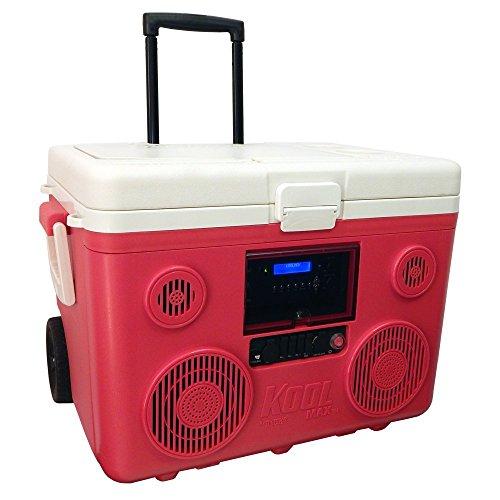 【日本仕様正規品】 KOOLMAX TUNES2GO Bluetooth スピーカー付きクーラーボックス (Red)