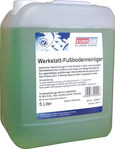 EUROLUB Werkstatt-Fußbodenreiniger, 5 Liter