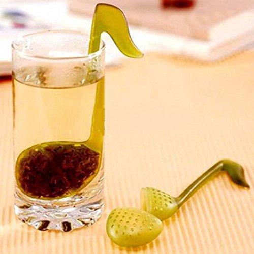 KaariFirefly musica nota moda convenienza Tea Leaf setaccio cucchiaio cucchiaino infusore filtro