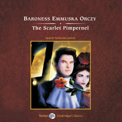 The Scarlet Pimpernel audiobook cover art