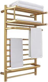 WHZWH Secador de Toallas, Radiador Toallero Electrico Bajo Consumo, Toallero Eléctrico de Pared Calentador Secador Térmico de Toallas para Baño 55-60℃