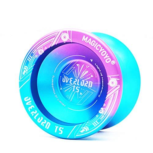 LLKK yo-yo 130/5000,Yo-yo Profesional yo-yo para Principiantes,yo-yo de educación Infantil,Estable y Fuerte,con yo-yo,Guantes