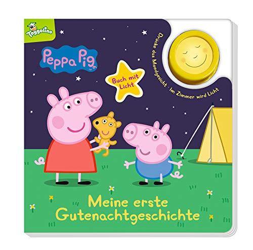 Peppa Pig: Meine erste Gutenachtgeschichte: Pappbilderbuch mit Licht