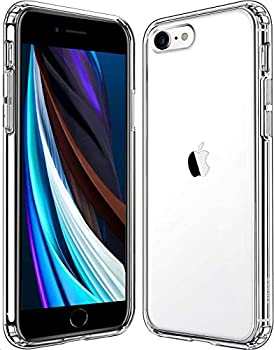 Mkeke Compatible with iPhone SE 2020 Case Crystal Clear Case for iPhone 8 Case and iPhone 7 Case