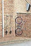 Mottez B123P Range vélo mural individuel antivol, Gris