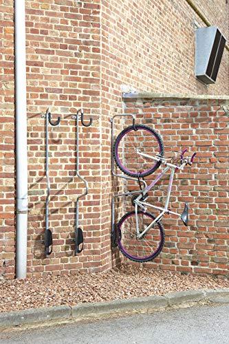 Dicoal - Gancho bici pared con antirobo