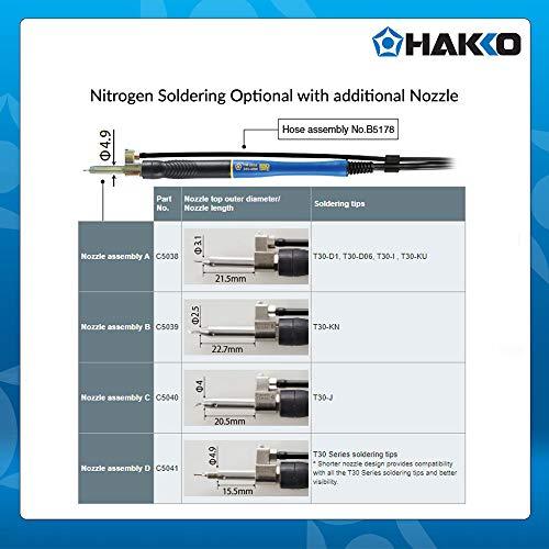 Hakko T30-KN 1.4mm/45 deg. x 8.5mm Knife Tip for FM-2032