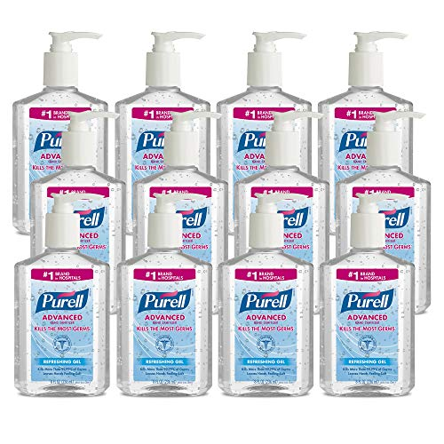 PURELL Advanced Hand Sanitizer, Refreshing Gel, Clean Scent,...