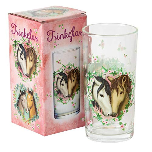 Mauder Verlag Trinkglas TapirElla Pferde