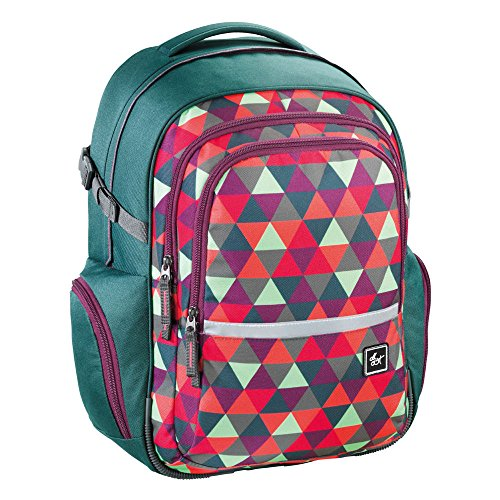 all out Filby Schulrucksack Happy Triangle