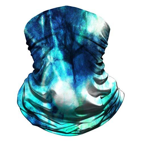 Mj-Shop Polaina para el cuello Mascarilla de tela reutilizable Mascarillas faciales Bandana lavable Mascarilla Protección contra el polvo del sol Cubierta facial Bufanda Escudo para pesca Ciclismo