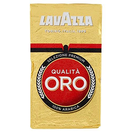 Lavazza Caffè Macinato Arabica, QualitàOro, 250g