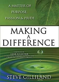 passion for making a difference