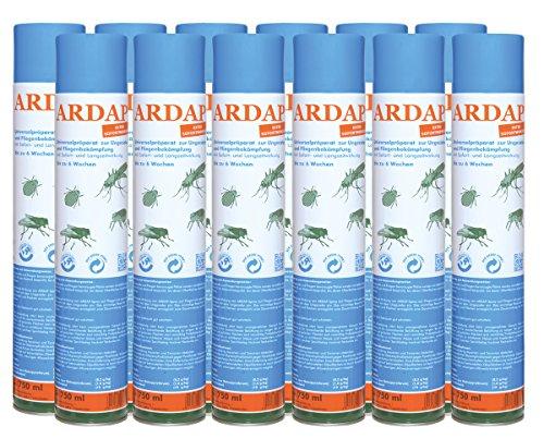 12 x 750ml Ardap Ungezieferspray Quiko Das Original