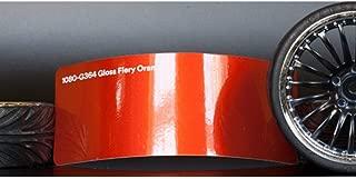 3M 1080 Gloss Fiery Orange | G364 | Vinyl CAR WRAP Film (5ft x 30ft (150 Sq/ft)) w/Free-Style-It Pro-Wrapping Glove